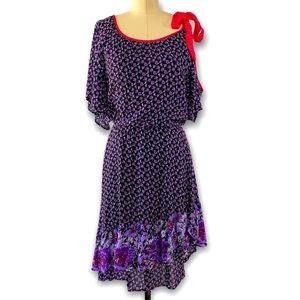 Free People Asymmetrical Dress Cold Shoulder